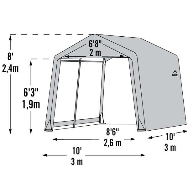 shed 3x3